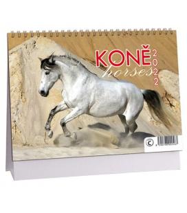 Table calendar Koně 2022