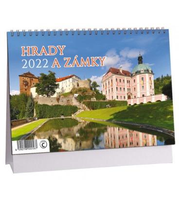 Table calendar Hrady a zámky 2022