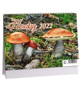Table calendar Houby 2022