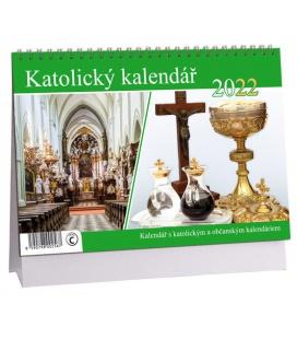 Table calendar Katolický 2022