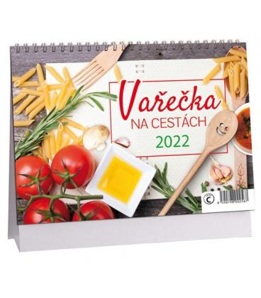 Table calendar Vařečka na cestách 2022