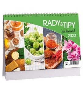 Table calendar Rady a tipy pro domácnost 2022