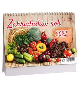 Table calendar Zahraníkův rok 2022