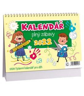 Table calendar Hádanky pro děti 2022