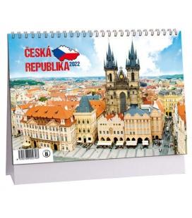 Table calendar Česká republika 2022