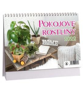 Table calendar Pokojové rostliny 2022