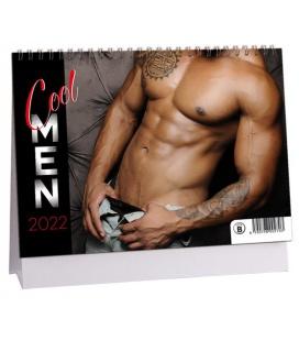 Table calendar Cool men 2022