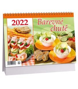 Table calendar Barevné chutě 2022