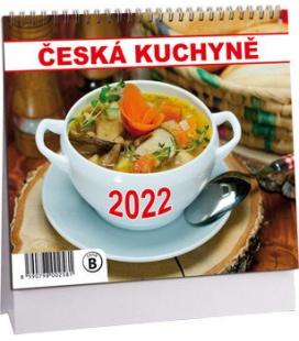 Table calendar Česká kuchyně mini 2022