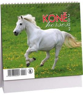 Table calendar Koně mini 2022