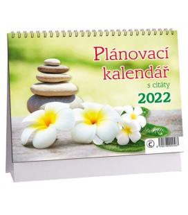 Table calendar Plánovací s citáty - Harmonie 2022
