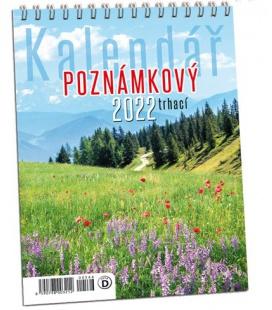 Wall calendar Trhací kalendář s háčkem na zavěšení 2022