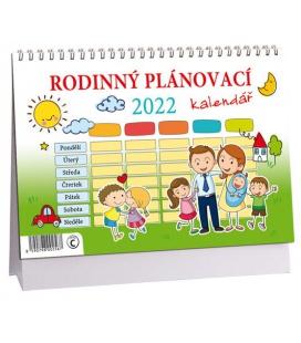 Table calendar Rodinný plánovací  2022