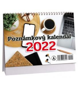 Table calendar Poznámkový mikro 2022