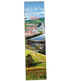 Wall calendar Česká krajina - vázanka 2022