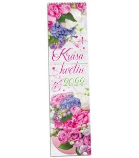 Wall calendar Krása květin - vázanka 2022