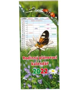 Wall calendar Rodinný plánovací - Obrázky 2022