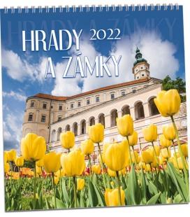 Wall calendar Hrady a zámky 2022