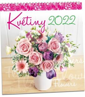 Wall calendar Květiny 2022