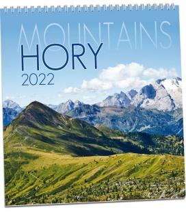 Wall calendar Hory 2022