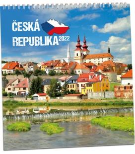 Wall calendar Česká Republika 2022