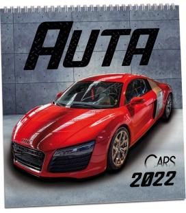 Wall calendar Auta 2022