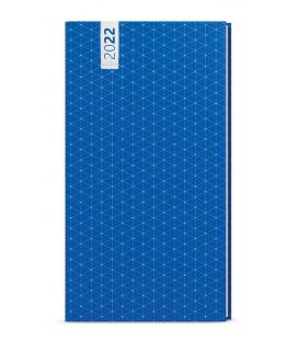 Weekly Pocket Diary - Jakub - lamino - blue 2022