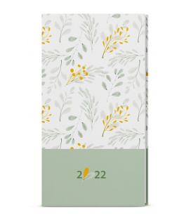Weekly Pocket Diary - Jakub - lamino - white 2022