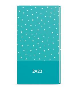Weekly Pocket Diary - Jakub - lamino -  turquoise 2022
