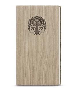 Weekly Pocket Diary - Jakub - wood light brown 2022