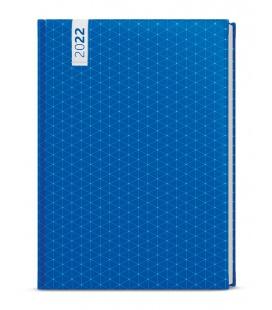 Weekly Diary A5 - Oskar - lamino -  blue 2022