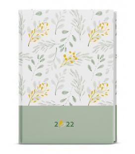 Weekly Diary A5 - Oskar - lamino -  white 2022