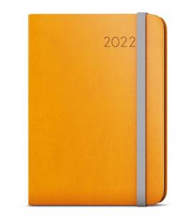 Weekly Diary A5 with notes - Zoro - flexi (ocher) yellow, grey 2022