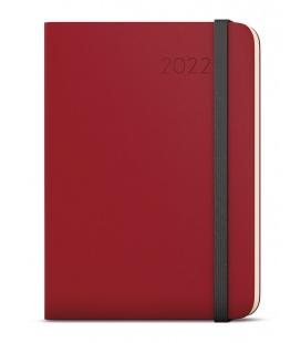 Weekly Diary A5 with notes - Zoro - Hemingway bordó, black 2022