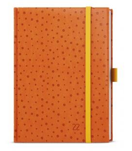 Daily Diary B6 - Adam - vivella extra orange - Puntíky 2022