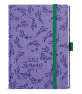 Daily Diary B6 - Adam - vivella extra purple - Levandule 2022
