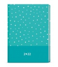 Daily Diary A5 - David - lamino -  turquoise 2022
