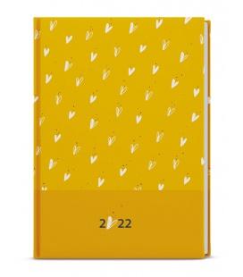 Daily Diary A5 - David - lamino - ocher, yellow 2022
