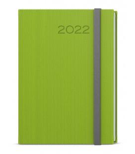 Daily Diary A5 - David - vigo green, grey 2022