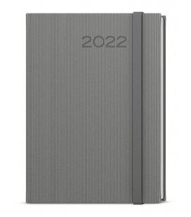 Daily Diary A5 - David - vigo grey, grey 2022