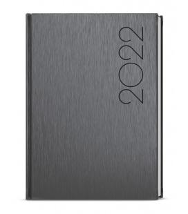 Daily Diary A5 - David - ForMen Grey grey 2022