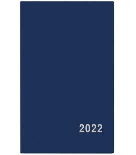 Fortnightly Pocket Diary - Alois - PVC - blue  2022