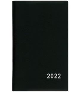 Fortnightly Pocket Diary - Alois - PVC - black 2022