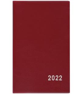 Fortnightly Pocket Diary - Alois - PVC - burgundy 2022