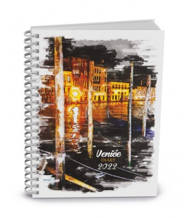 Weekly Pocket Diary - Egon - twin wire - lamino - Venice 2022