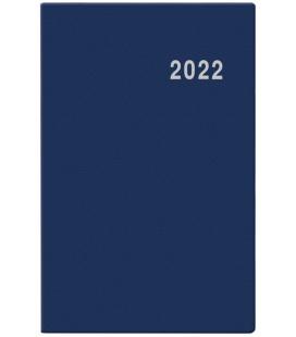 Fortnightly Pocket Diary - Gustav - PVC - blue 2022