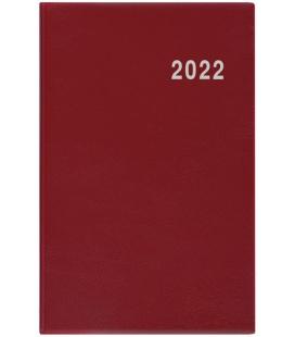 Fortnightly Pocket Diary - Gustav - PVC - burgundy 2022
