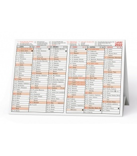 Table calendar Stříškový kalendář 2022