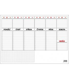 Table calendar Stolní plánovač A3 - týd. mapa - 30 listů  2022