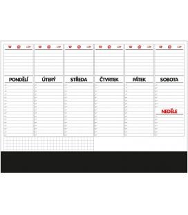 Table calendar Stolní plánovač A2 - týd. mapa - s lištou - 50 listů 2022